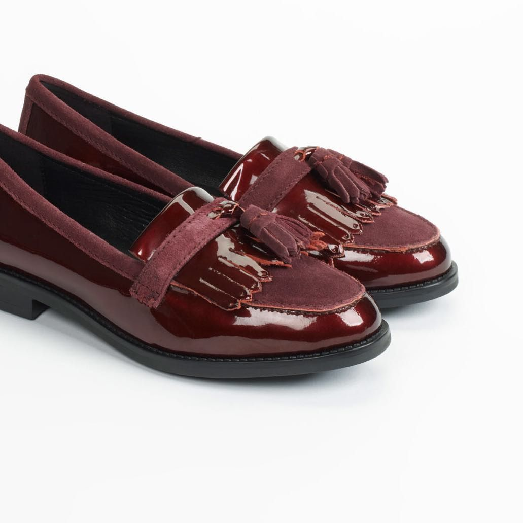 Androgynous style. Goosie £69/$109 #dunelondon #dune #shoes #loafer #tassel #fashion #style