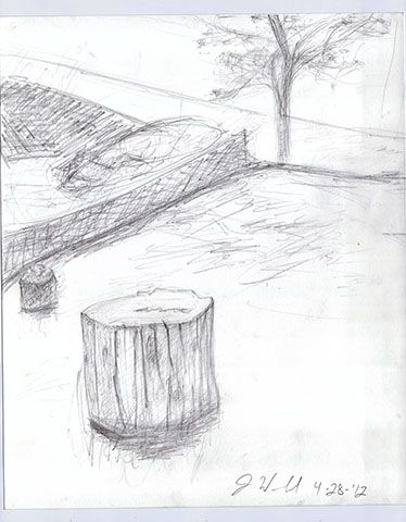 Interiors and Landscapes | Page 3 | Drawings By J Woodard