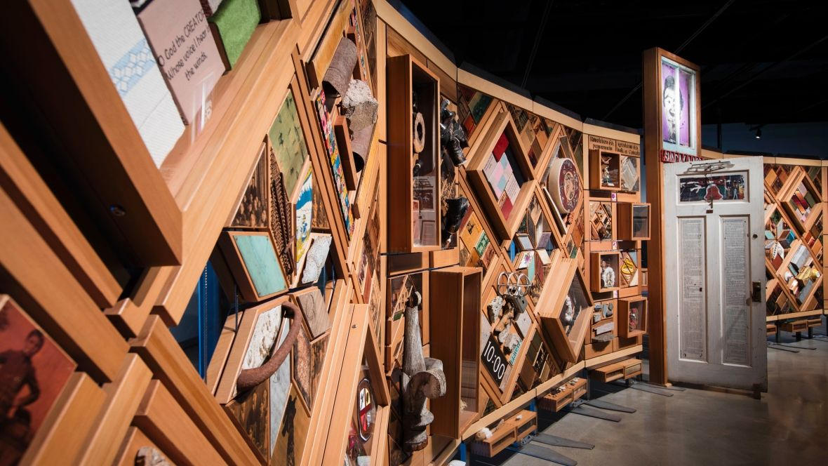 Witness Blanket Brings Together Objects From Residential Schools