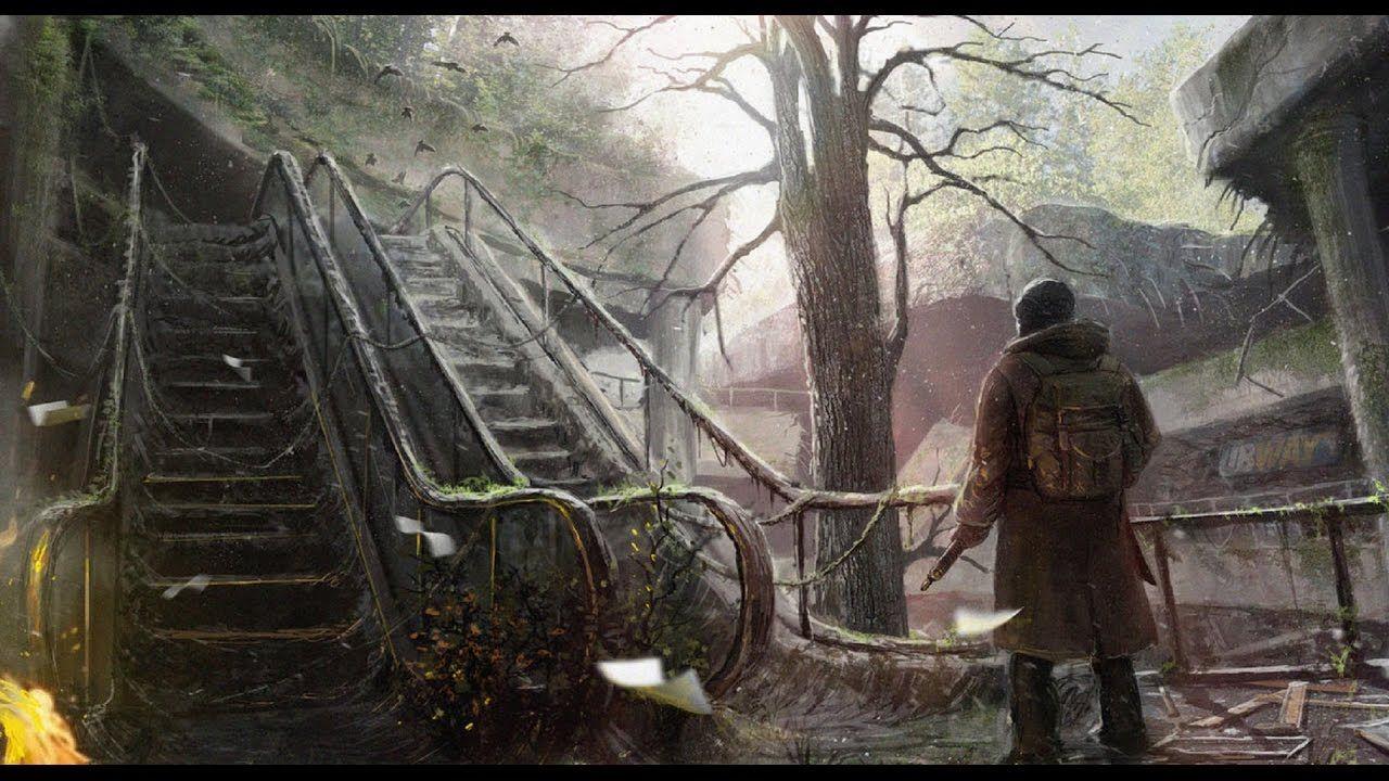 Обои деревья, дорога, сталкер, чернобыль, сталкер, Fan art, птицы, зона. Игры foto 9