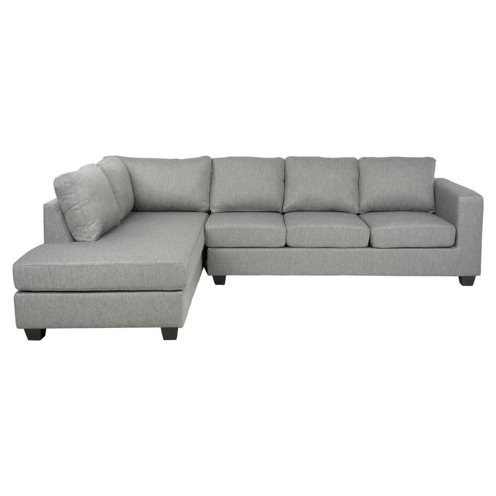 Durango Sofa Chaise -Grey | Furniture | Chaise sofa, Modern leather ...