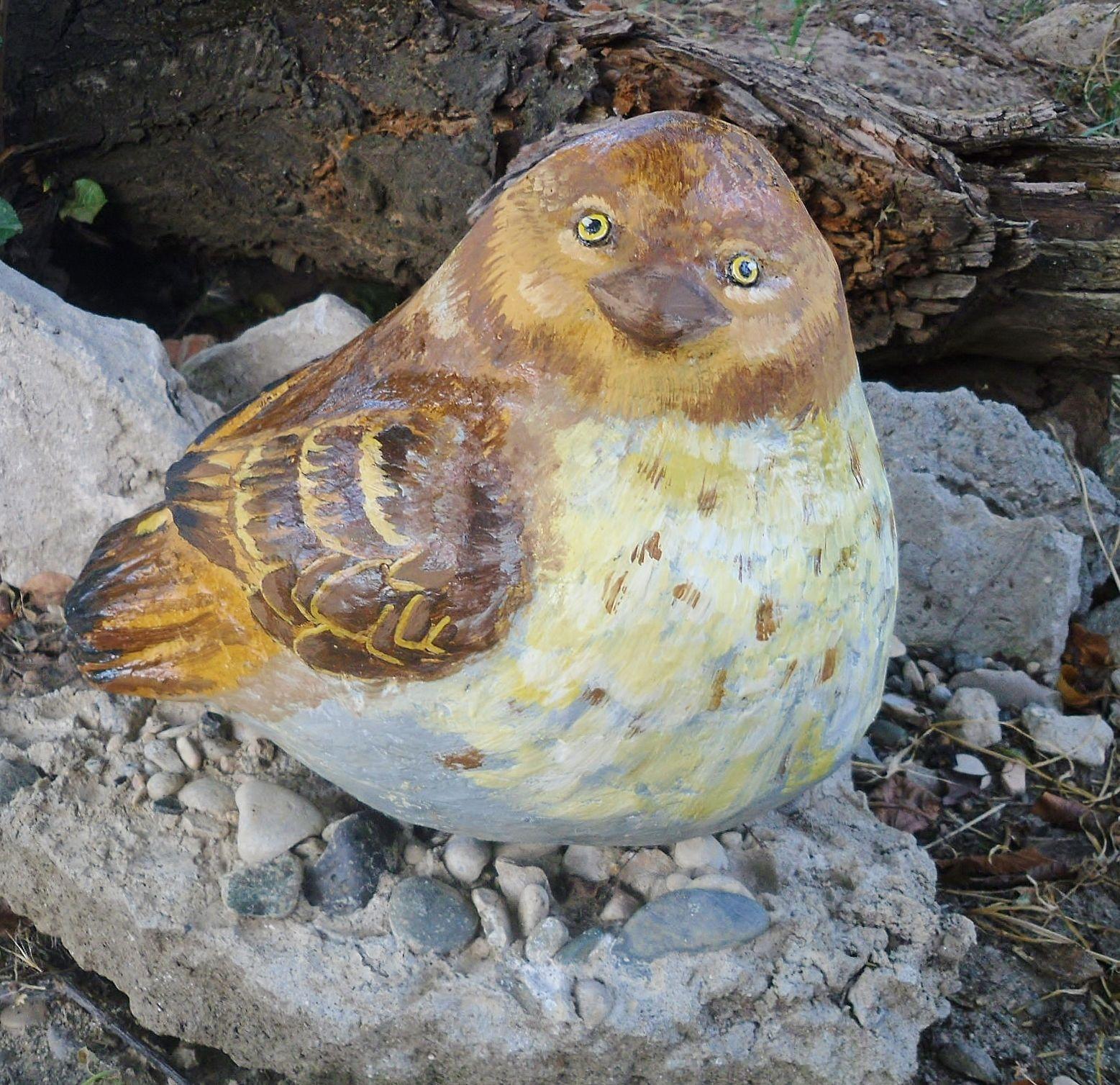 Птички из бетона бетон м300 гравий цена