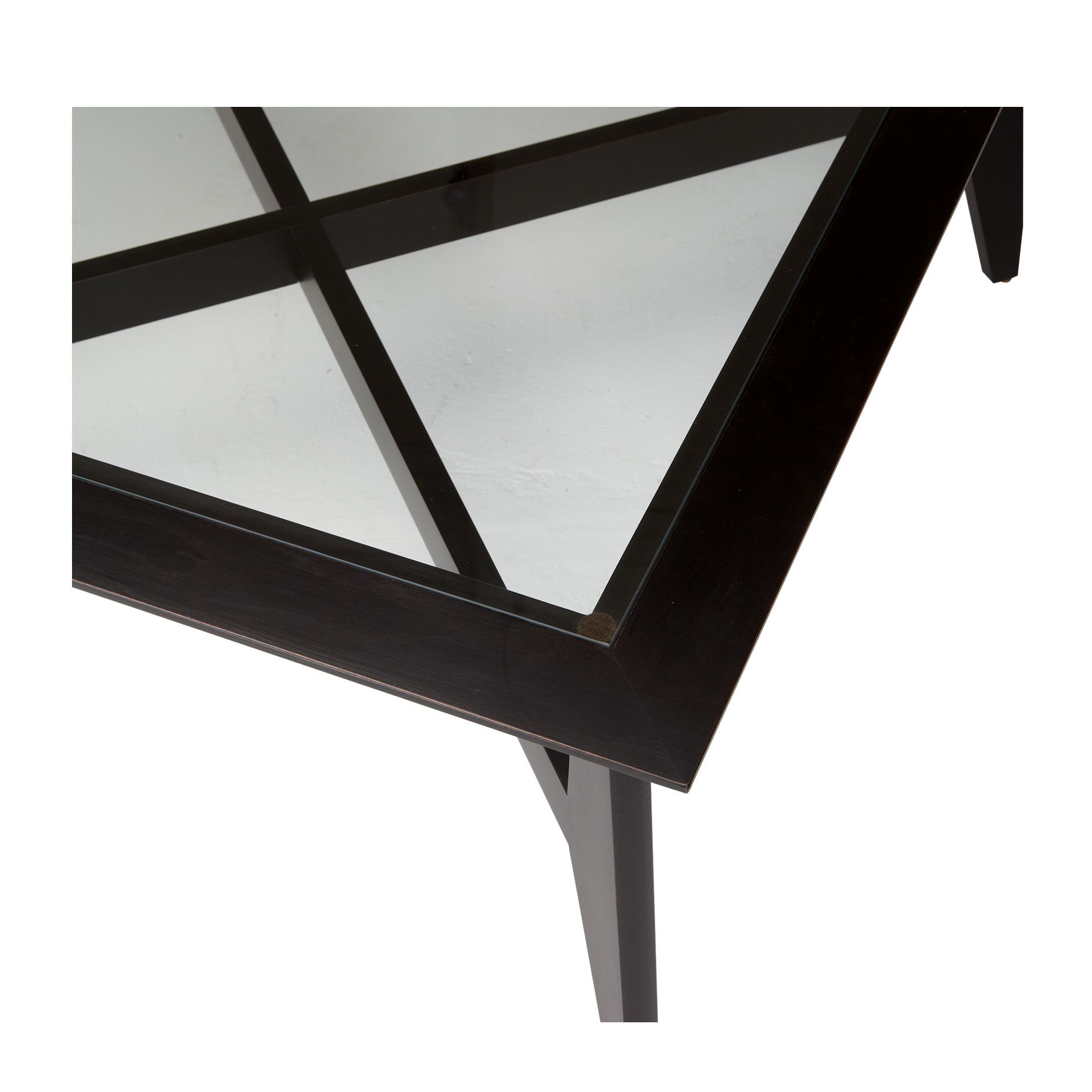 Ethan Allen Trevor Coffee Table: Black Coffee Tables. Trevor Coffee Table