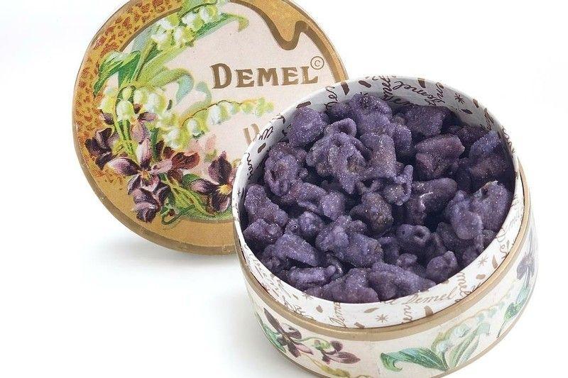 Kandierte Veilchen C Demel Austrian Pastry Pinterest Veilchen