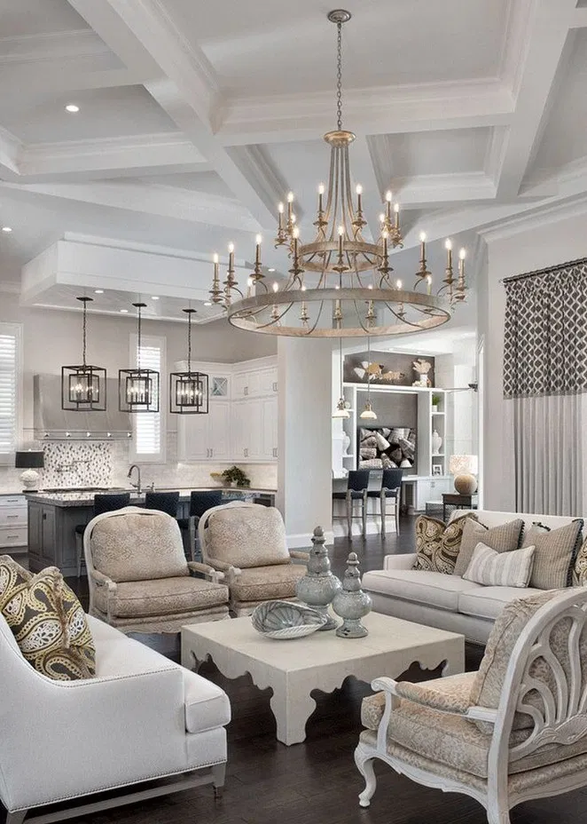 Modern Home Decor Trends To Copy In Year 2020 In 2020 Luxury Living Room French Country Living Room Modern Glam Living Room