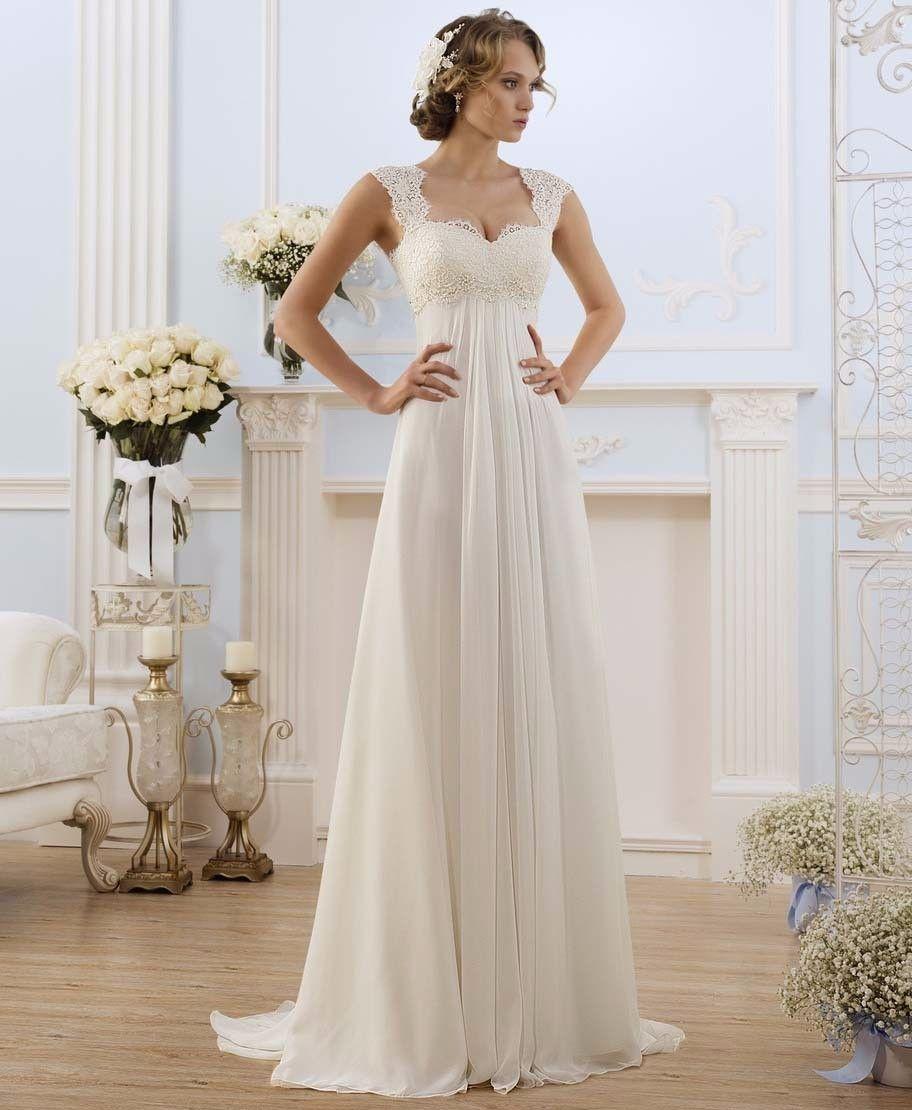 Lace dress for pregnant  Click to Buy ucuc Vestidos De Noiva  Robe De Mariage Stock US Size