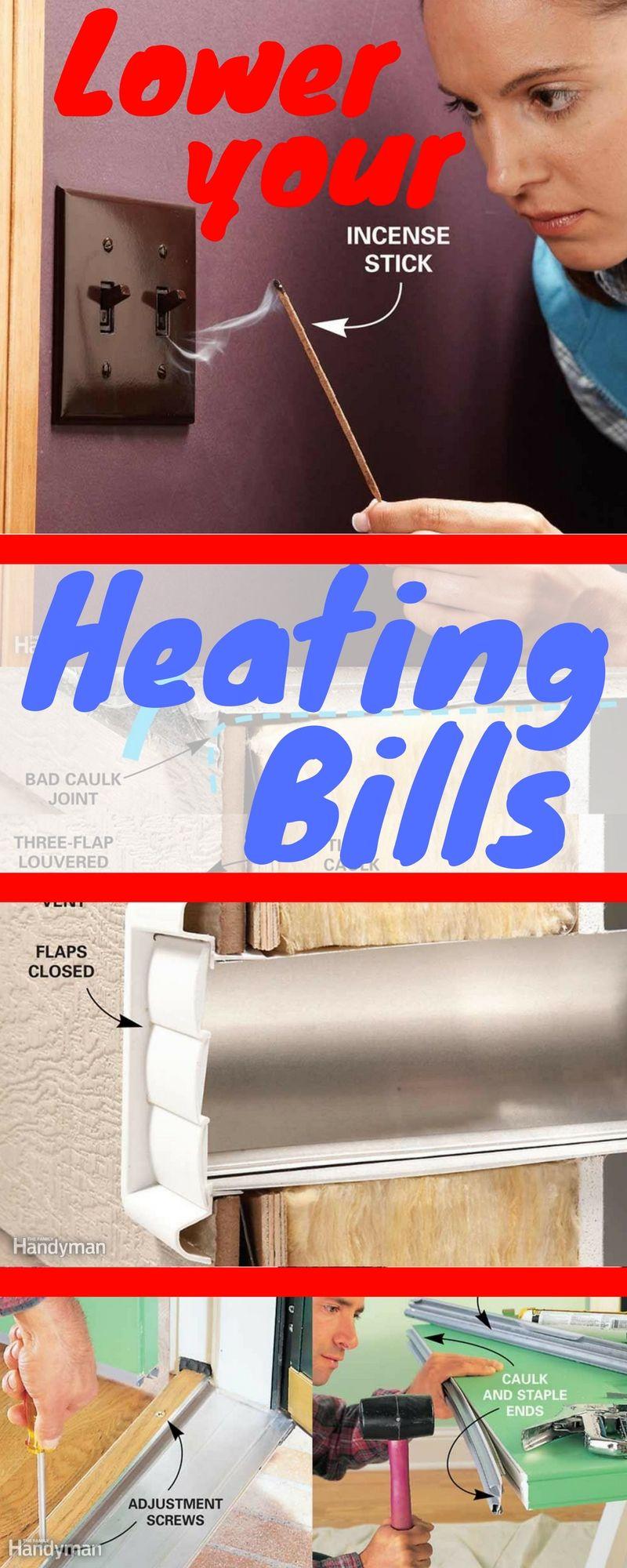 Slash Heating Bills Stoves Heating Home Repairs Diy Home