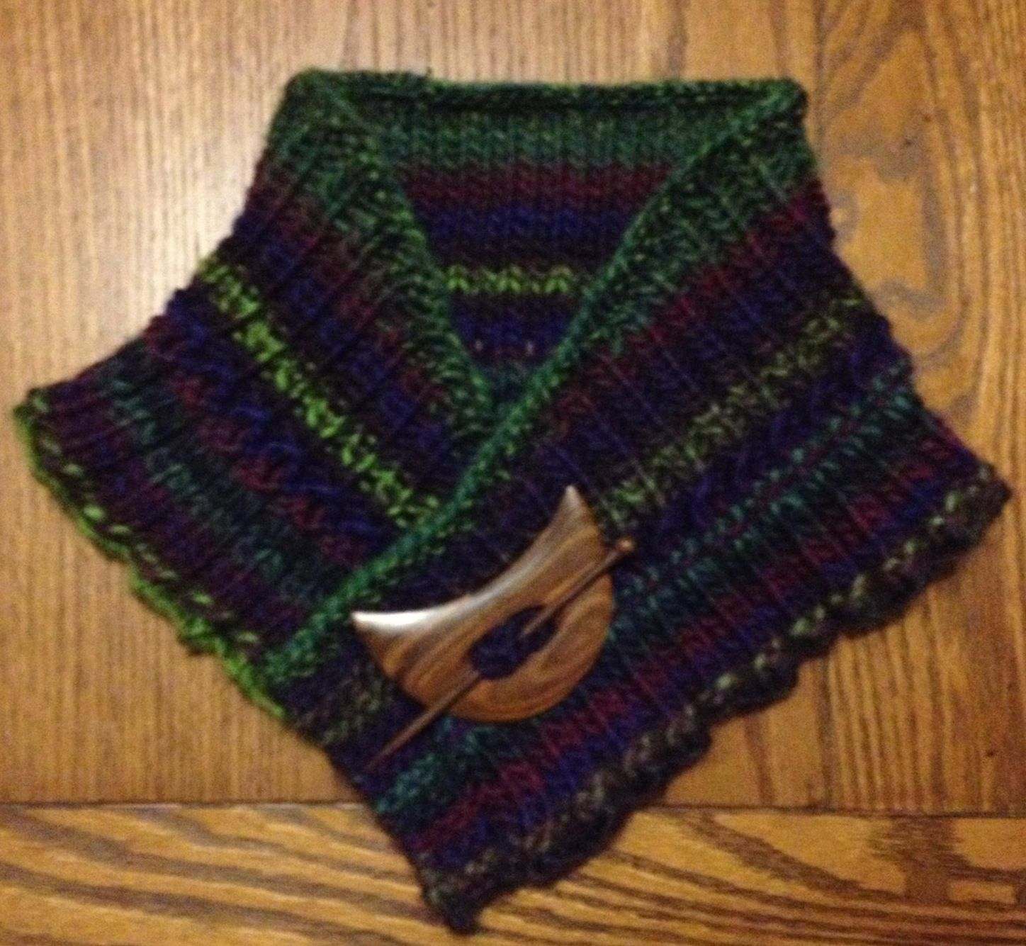 Knit 'Rachel's Slow Curve Scarf' from nobleknits.com
