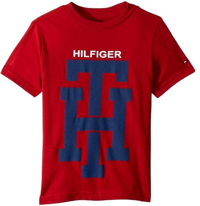 23eba34f Tommy Hilfiger TH Logo Graphic Tee (Toddler/Little Kids) | Products ...