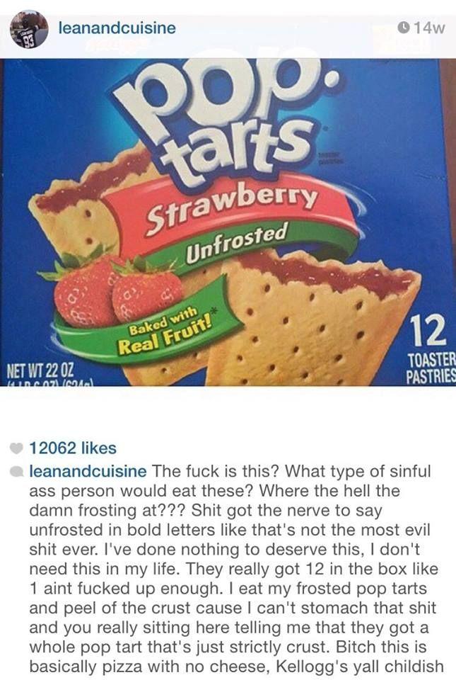 Pin By Gabby Lea On Funny True Pop Tarts Baked Fruit Tart