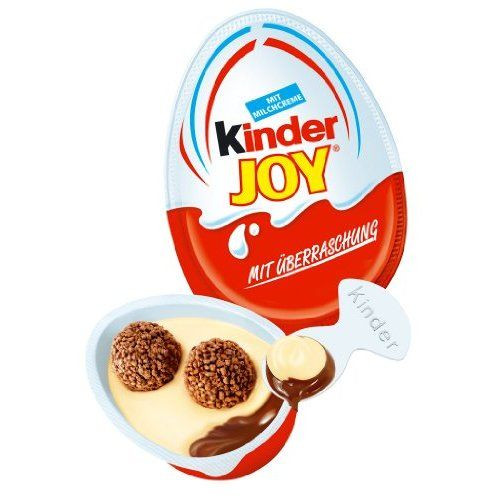In Italy they are Kinder Merendero con surpriso...wish I could get them for kids!