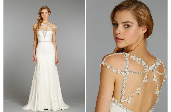 Love The Back Of The Haley Paige Gown, Sophisticated Glam