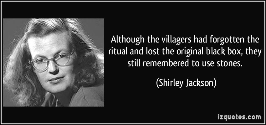 Image result for quotes shirley jackson