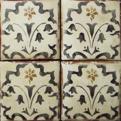 Decorative Tile Polanco 3 In Mocka And Charcoalcomes In A Variety Of Colours And