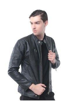 Pria   Pakaian   Outerwear   Jaket   Hoodies   Crows Denim - Jaket Pria  Leather adac0f76e0