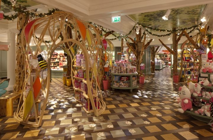 Harrods Toy Kingdom By Shed London 06 TOY STORES! Harrods Toy Kingdom By  Shed,