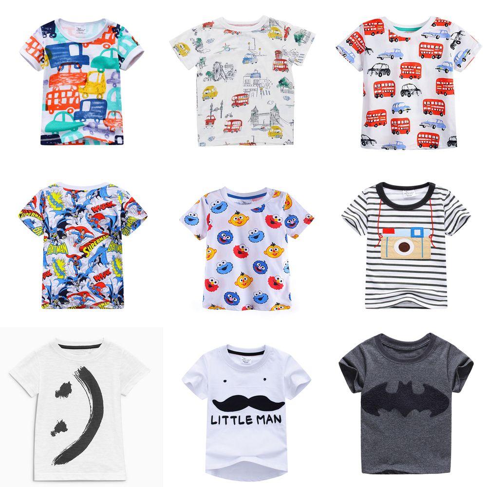 86c5eeb54a9f Nice 2017 Hot Fashion Brand Boys T-shirt Kids Tops Tee Designer Toddler  Baby Boys T Shirts Cotton Short Sleeve Children Tops Tee - $ - Buy it Now!