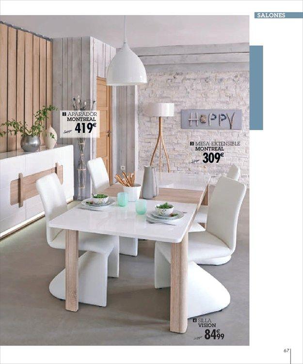 Catálogo de ofertas de Conforama Mesas   Tables Pinterest - conforama salle a manger