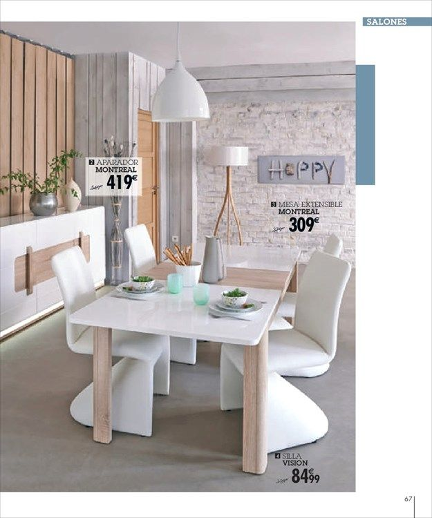 Catálogo de ofertas de Conforama | Mesas / Tables | Pinterest ...