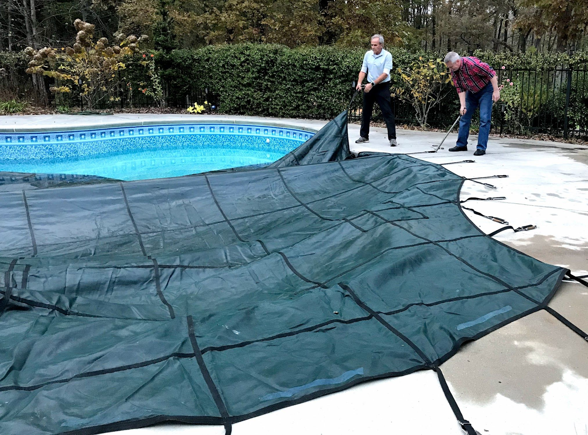 Inground Pool Cover A Pool Owner S Guide Inground Pool Covers Inground Pools Pool Cover