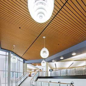 Woodworks Linear Wood Ceilings Armstrong Commercial