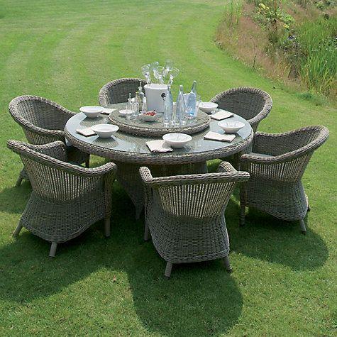 4 Seasons Outdoor Valentine 6 Seater Garden Dining Set ...