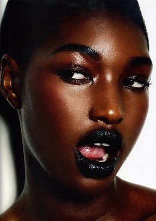 Makeup for Dark Skin Black Women   ... alterations and dramatic modifications to our skin tones in photos