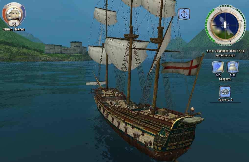 Скачать игры про парусные корабли на пк