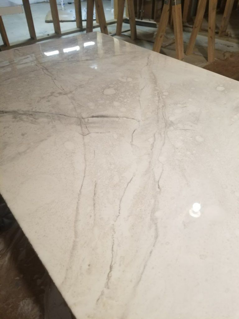 Diy Marble Countertops Using Epoxy Leaving A Light On Resin