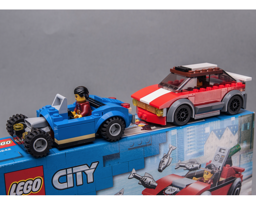 60242 Hot Hatch & Blue HotRod in 2020 Hot hatch, Lego