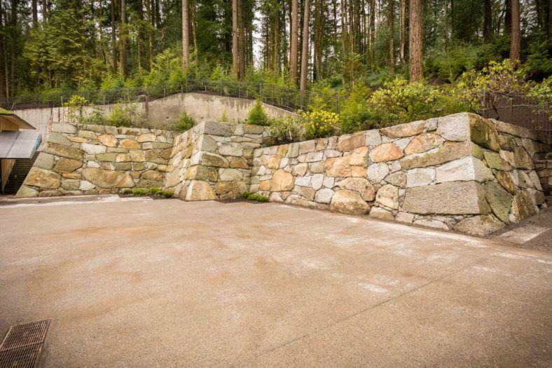 Zagunis Castle Wall Portland Japanese Garden Japanese Garden Castle Wall