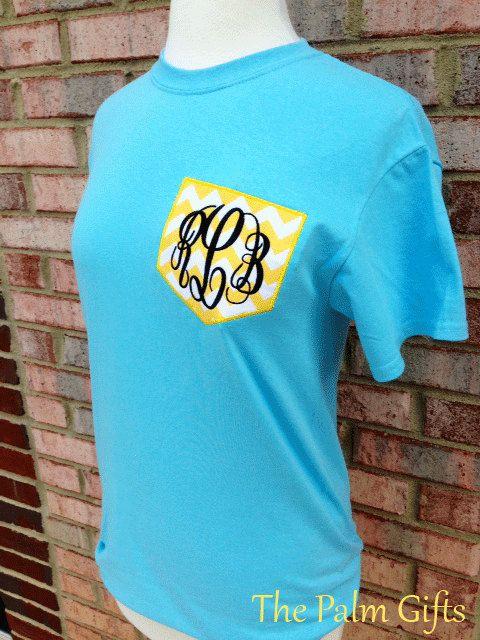 monogram pocket t-shirt! I really like these