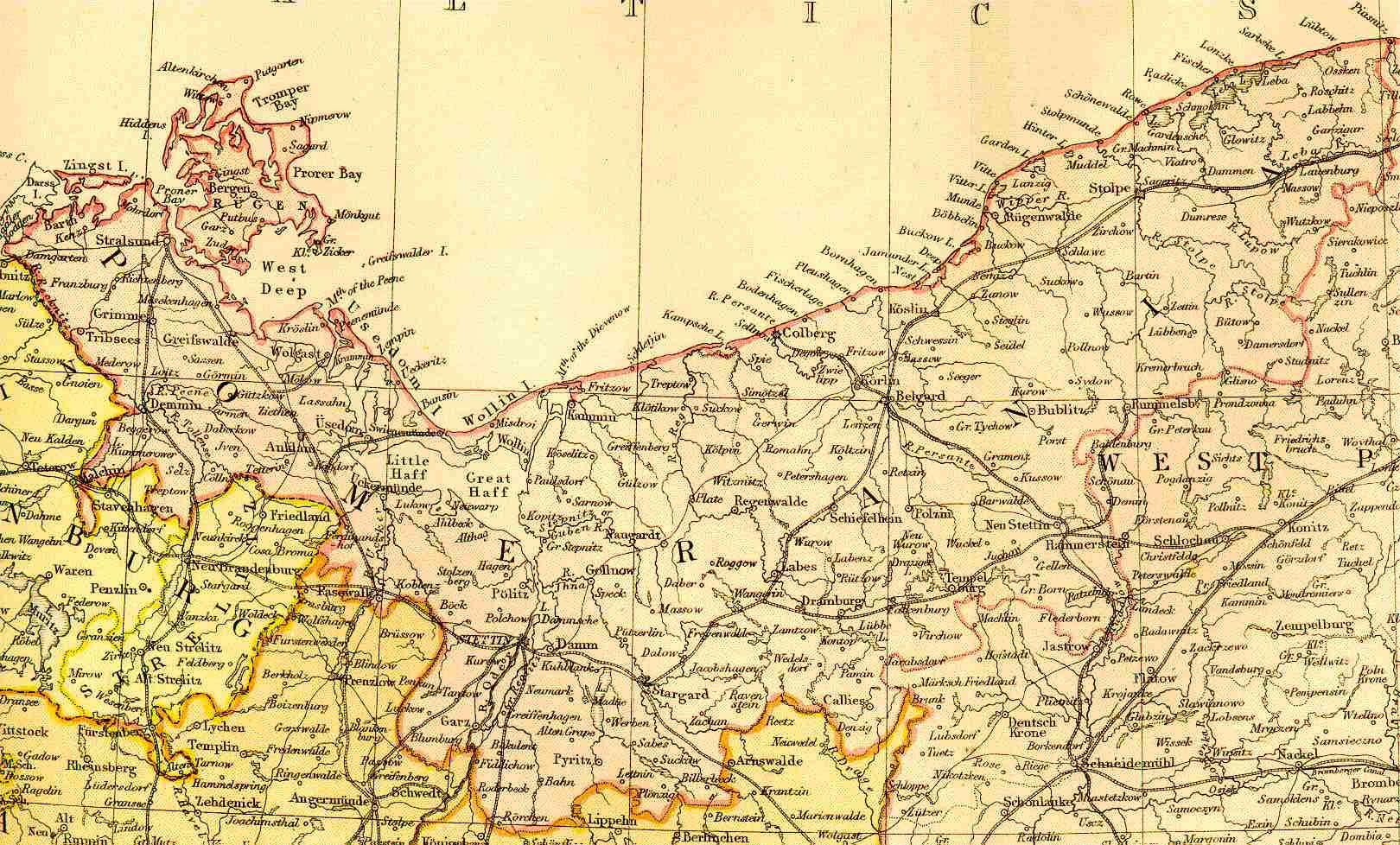 Feefhs Pommern Pomerania Prussia 1882 Geneology Pinterest