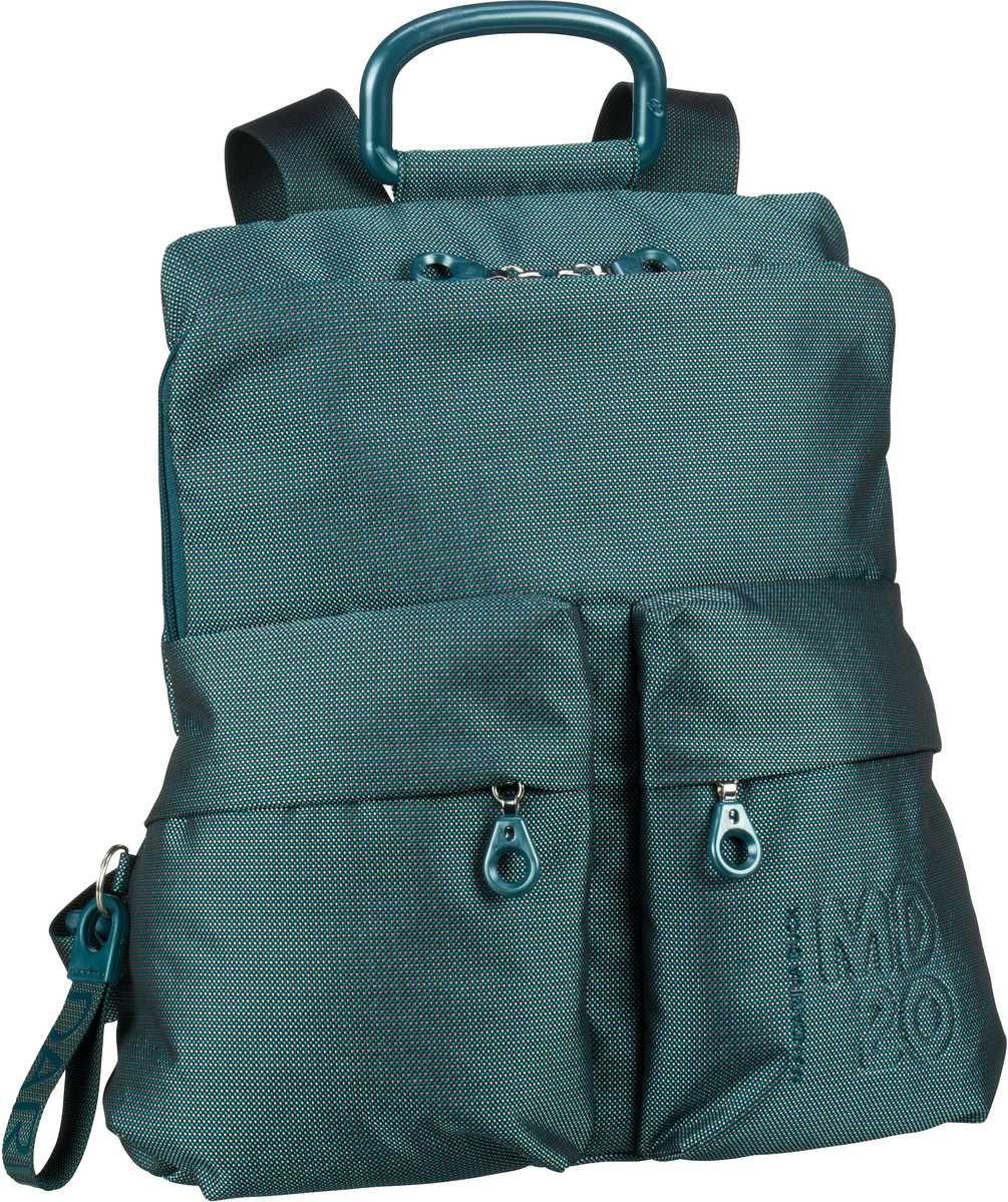 a2360ce94f53b Taschenkaufhaus Mandarina Duck MD20 Slim Backpack QMTZ4 Petrol Blue -  Rucksack   Daypack  Category