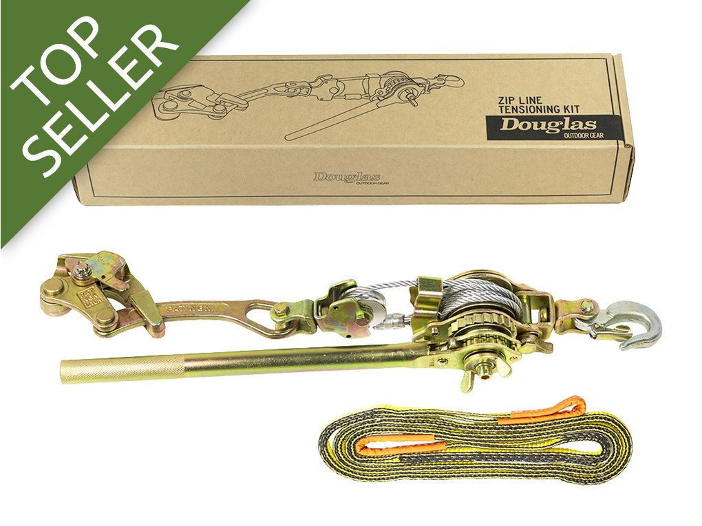 Cable Tensioning Kit Block And Tackle Installation Kit