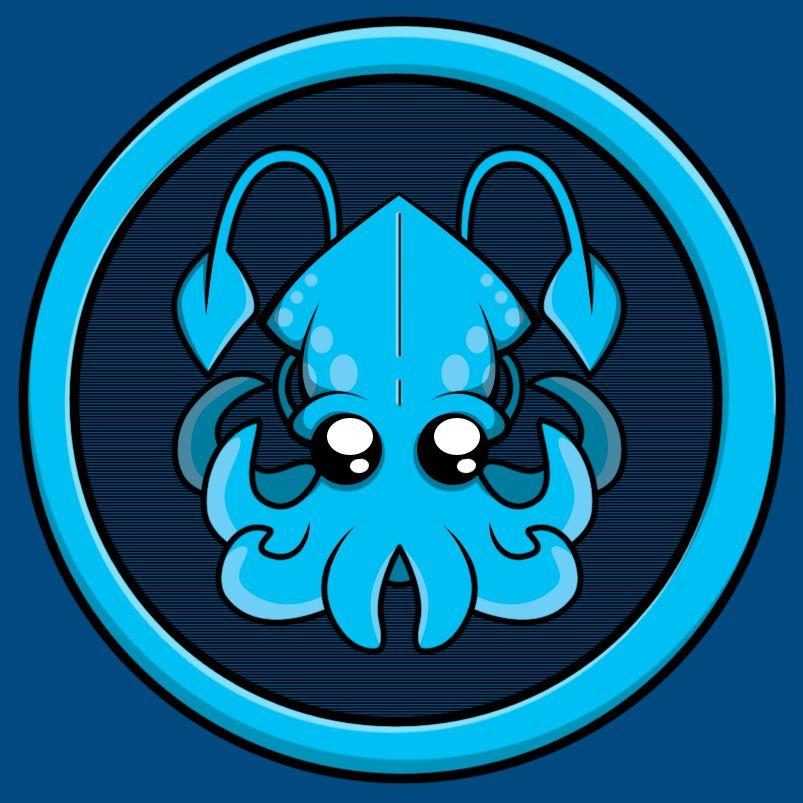 old arctic squid logo kraken logo logos art design old arctic squid logo kraken logo
