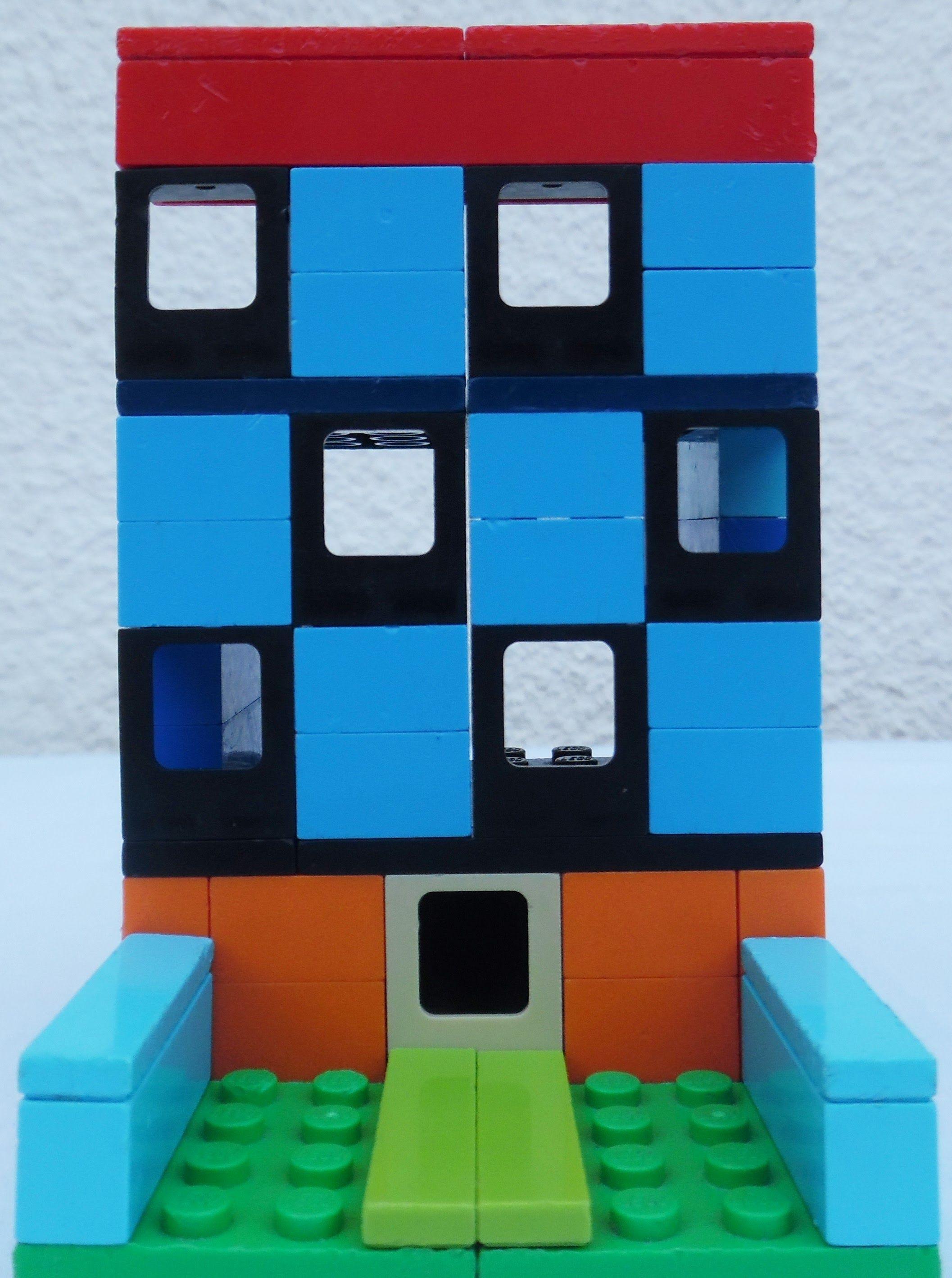 How to build lego gas apartments building lego citylego