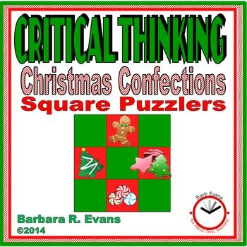 CRITICAL THINKING: Christmas Confections Square Puzzlers   This may be the best gift you can give your students!  And, it's FREE!