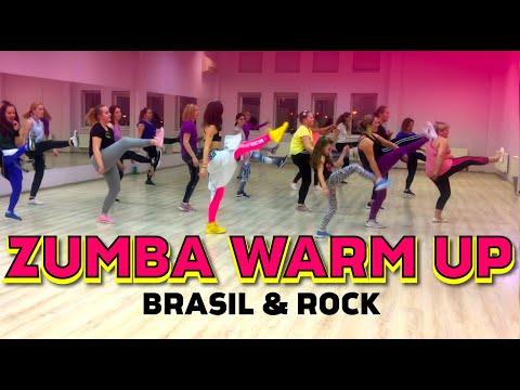 Zumba Warm Up 2019 Rock Brasil Zumba Vilniuje Indre Gatelyte Youtube