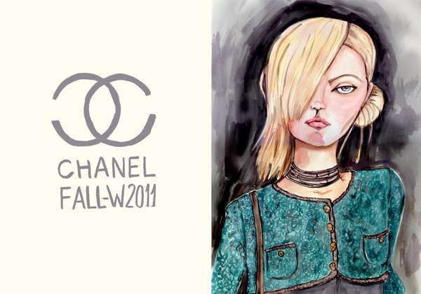 The Perfect Girls Series by Maria Gomez Depicts Couture-Clad Women #Pop Culture trendhunter.com