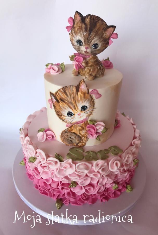 Kittens Cake By Branka Vukcevic Cakes Amp Cake Decorating