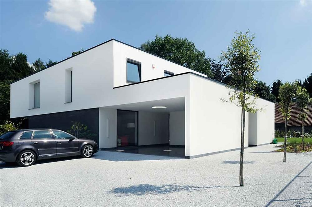 Ch architecten the art of living huis pinterest omheining huizen en nieuwbouw - Stijl eengezinswoning ...