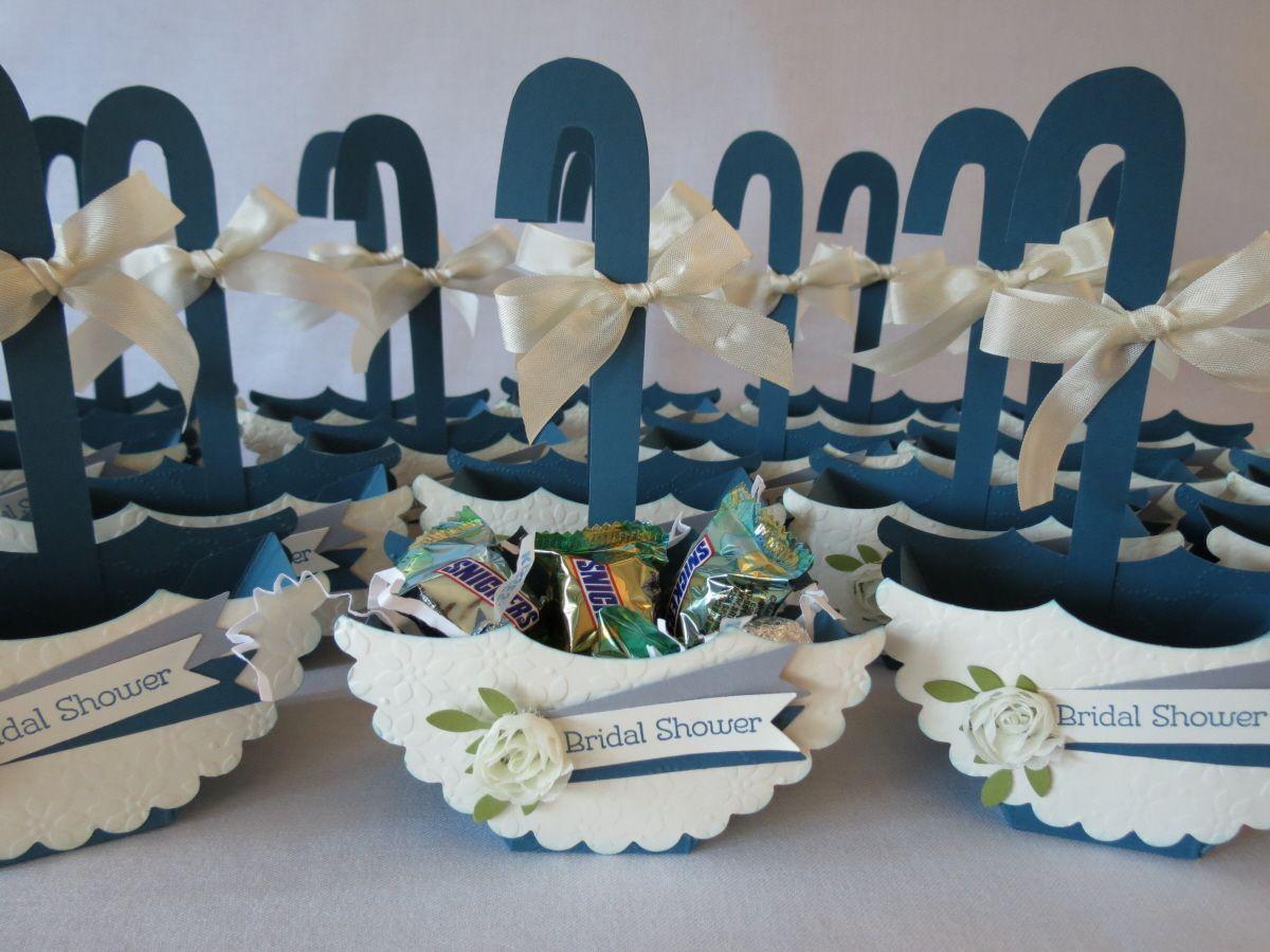 umbrella themed wedding shower favor and invites
