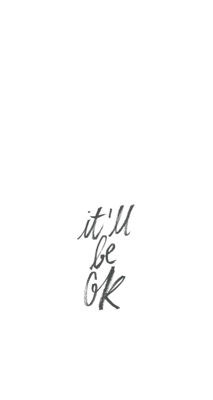 Simple Quote Wallpaper Background IPhone Ok