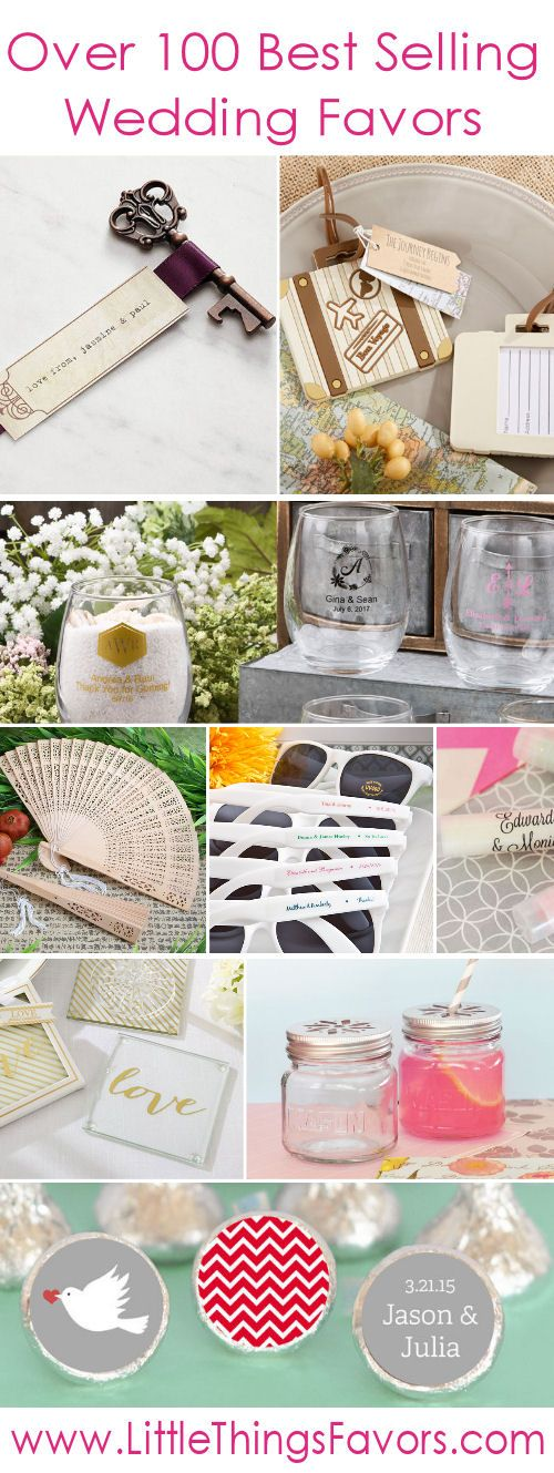 Click to shop our 100 best selling #weddingfavors!