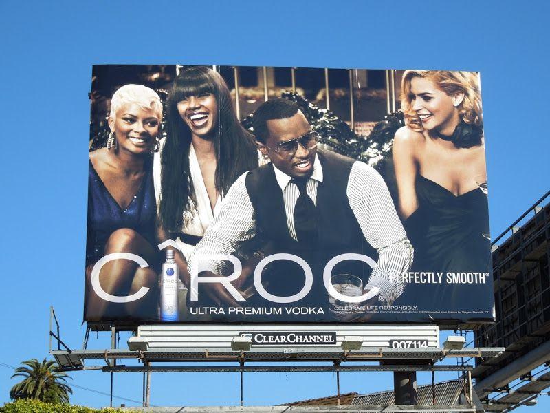 Cîroc Vodka Sean Combs billboard 2013