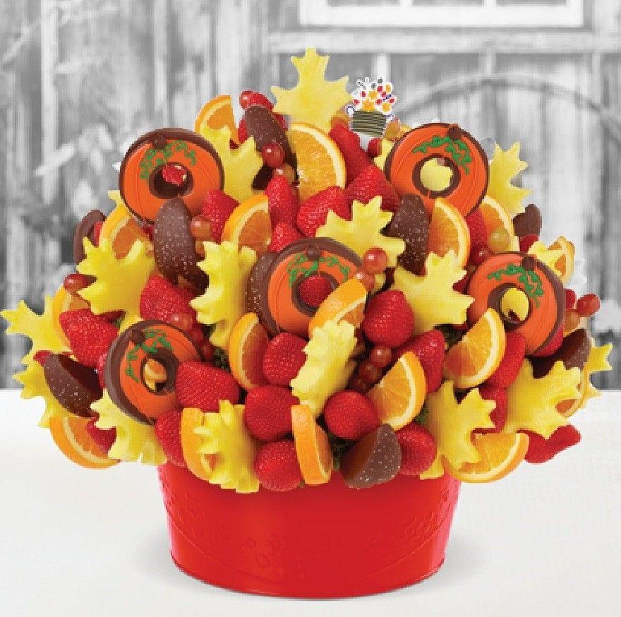 Fall favorites edible fruit arrangements edible