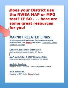 Does Your District Use The NWEA MAP Or MPG Test IF SO Here - Map testing