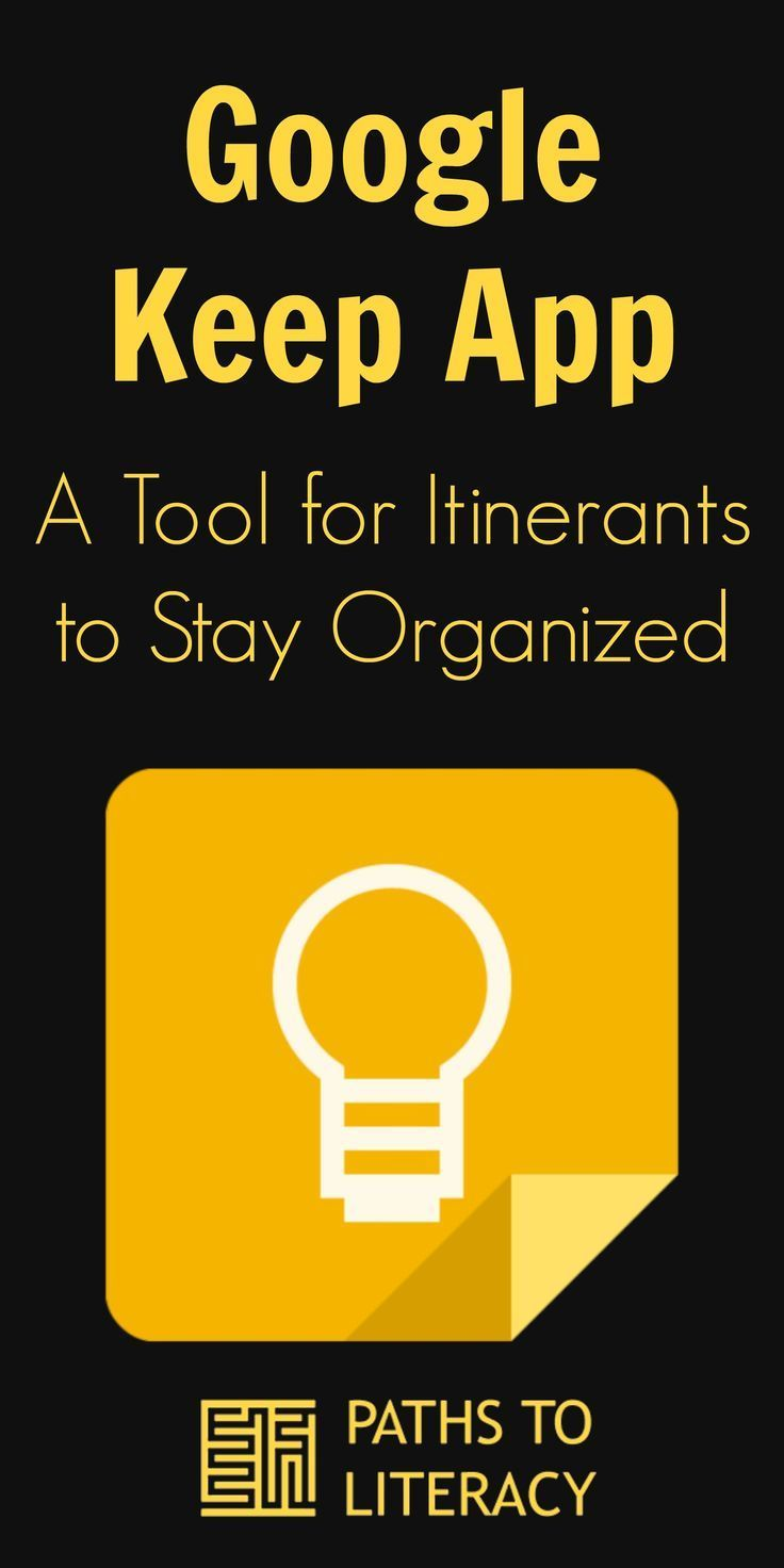 Google Keep App A Tool for Getting Organized in 2020