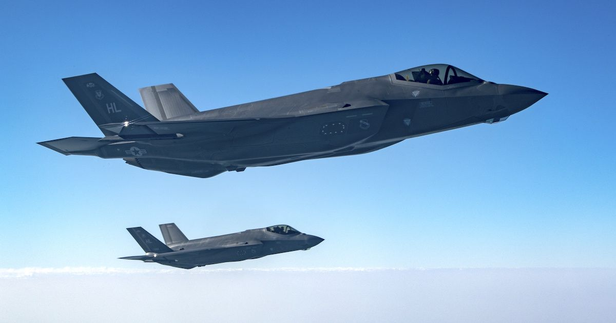 Air Force F 35s And Army Howitzers Are Practicing Double Teaming